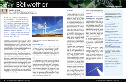 Bellwether Newsletter